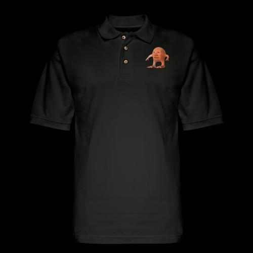 ORANG - Men's Pique Polo Shirt