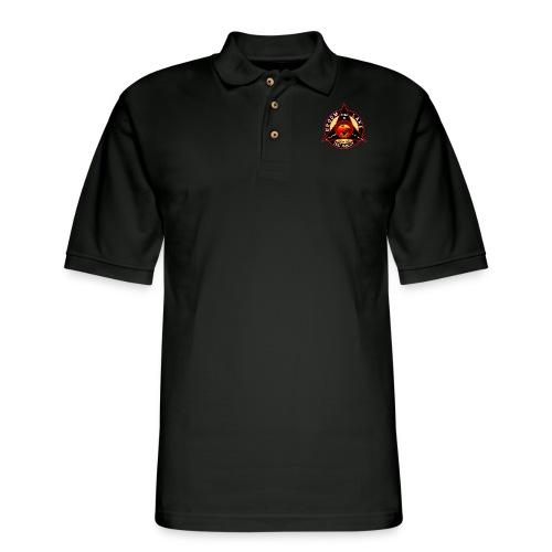 THE AREA 51 RIDER CUSTOM DESIGN - Men's Pique Polo Shirt