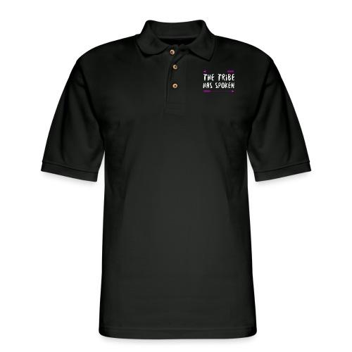 The Tribe Has Spoken - Men's Pique Polo Shirt