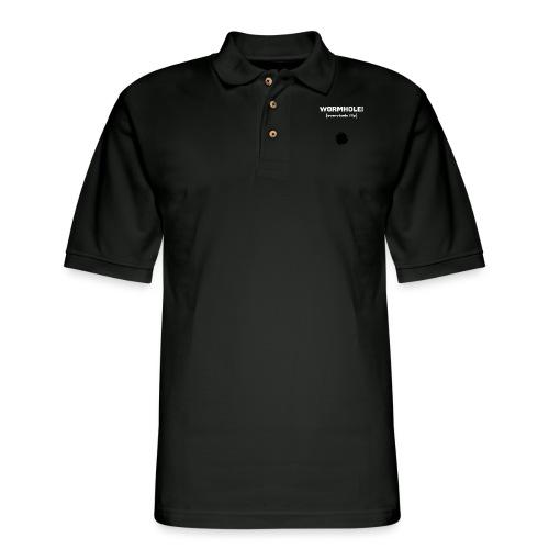 Spaceteam Wormhole! - Men's Pique Polo Shirt