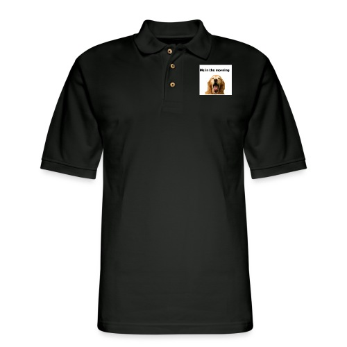 doggo - Men's Pique Polo Shirt