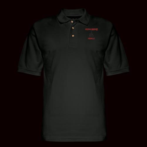 CASTLE HOODIE - Men's Pique Polo Shirt