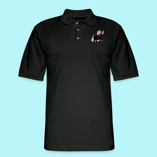 O MY G - Men's Pique Polo Shirt