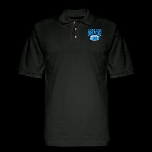 FEAR THE SNARE - Men's Pique Polo Shirt