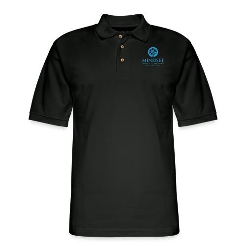 Mindset Divine logo 01 - Men's Pique Polo Shirt