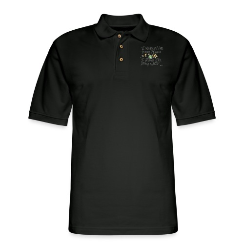 I Really Like your Planet - Men's Pique Polo Shirt