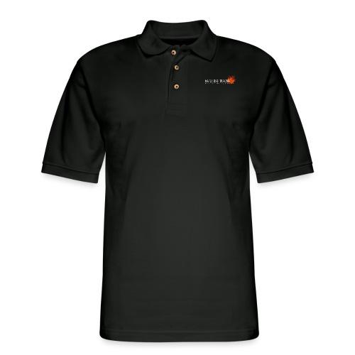 MLT Shirt Logo - Men's Pique Polo Shirt