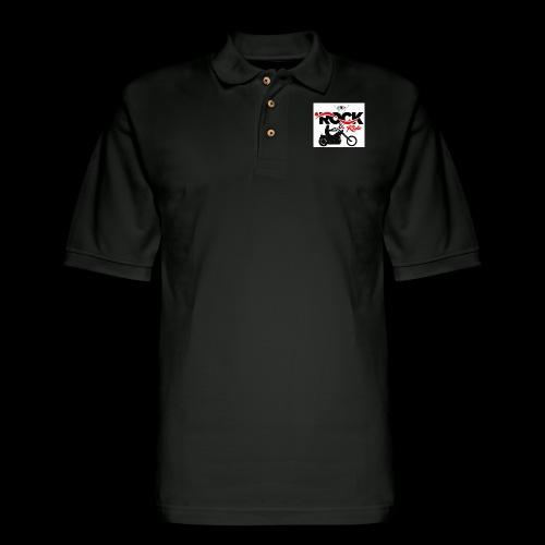 Eye Rock & Ride Design - Men's Pique Polo Shirt