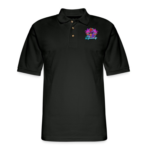 Palmed Out Wynnsanity - Men's Pique Polo Shirt