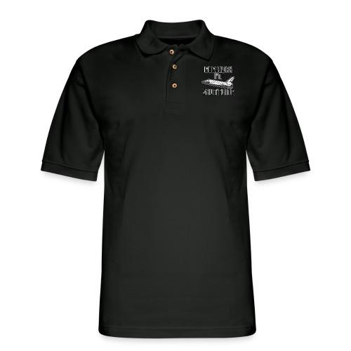I'm Shuttling - Men's Pique Polo Shirt