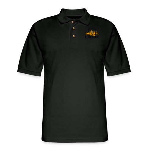 Is This Heaven? No, It's Pittsburgh - Men's Pique Polo Shirt
