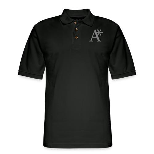 A* logo - Men's Pique Polo Shirt