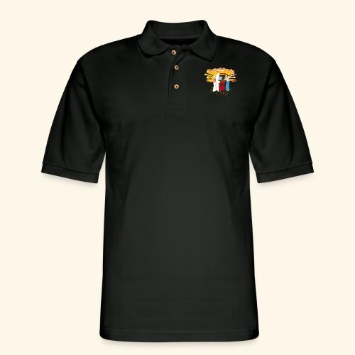 Master of the Arcade - Men's Pique Polo Shirt