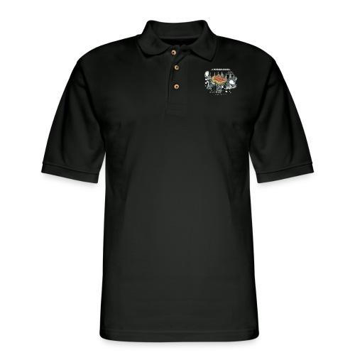 Der Problemlöser_E - Men's Pique Polo Shirt