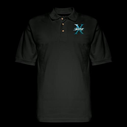 BOTZ X Logo Plain - Men's Pique Polo Shirt