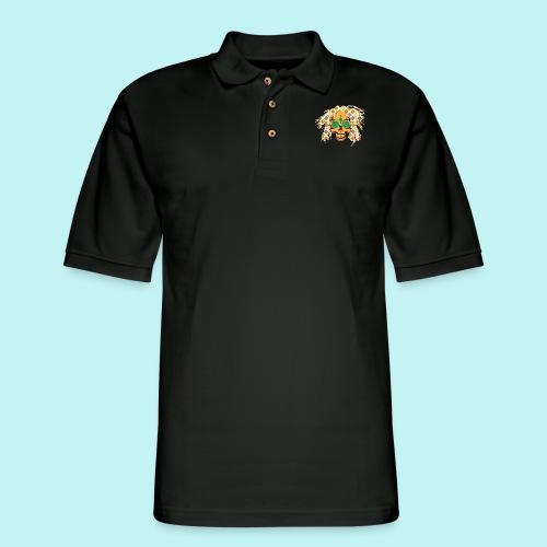 BOB MARLEY SKULLY 2 - Men's Pique Polo Shirt