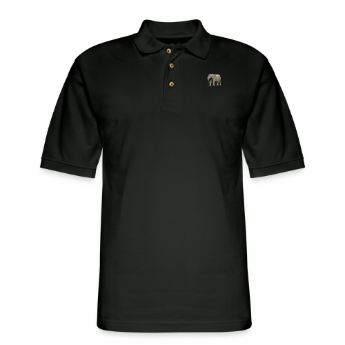 Love elephant? Check these great elephant staffs - Men's Pique Polo Shirt