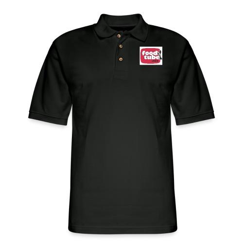 FoodTube - Men's Pique Polo Shirt