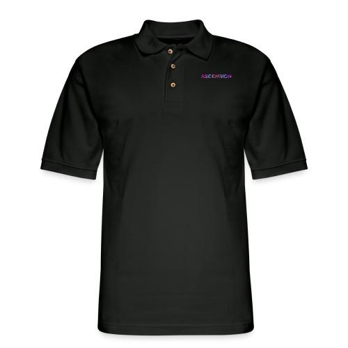 logo name - Men's Pique Polo Shirt