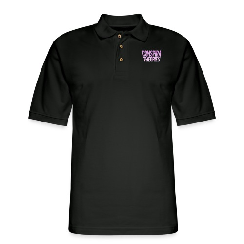 Women's - ConspiraTheories Official T-Shirt - Men's Pique Polo Shirt