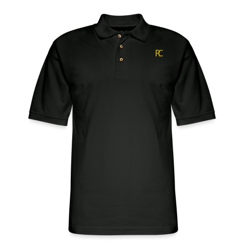 Black 'n Gold Era - Men's Pique Polo Shirt