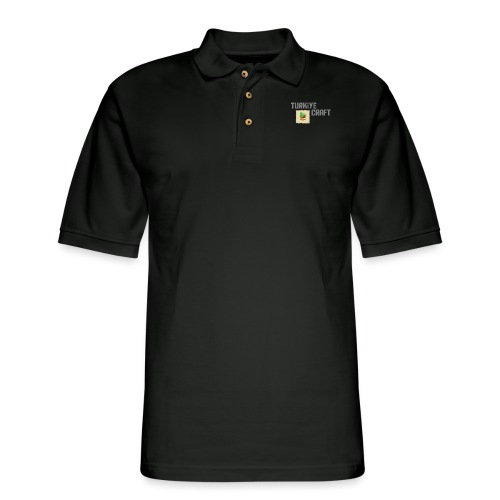 TurkiyeCraft Logo - Men's Pique Polo Shirt