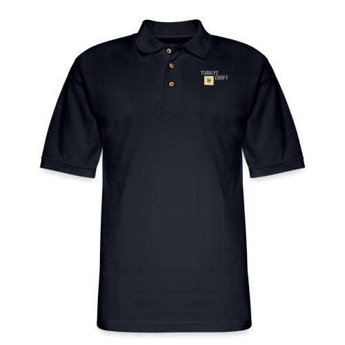 TurkiyeCraft Logo - Men's Pique Polo Shirt