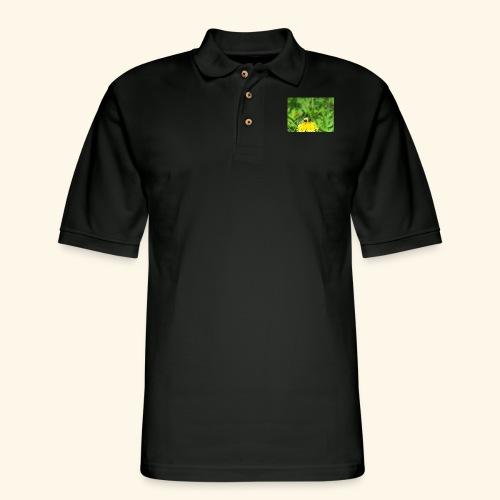 Dandelion Bee - Men's Pique Polo Shirt