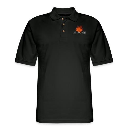 MLT Logo B - Men's Pique Polo Shirt