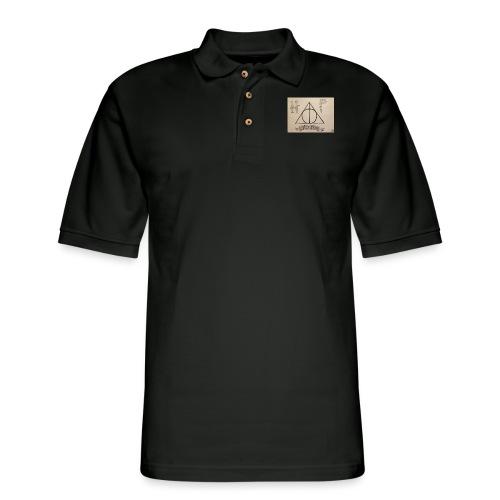 Deathly Hallows - Men's Pique Polo Shirt