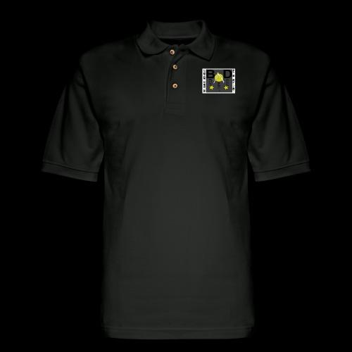 BAD SYMBOL - Men's Pique Polo Shirt