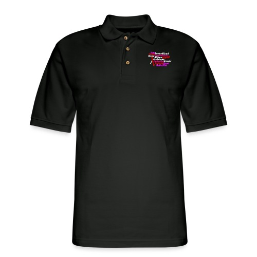 Ballet Art - Men's Pique Polo Shirt