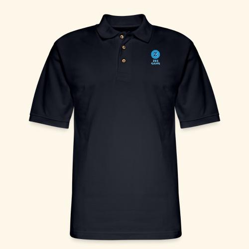 ZEE GANG - Men's Pique Polo Shirt