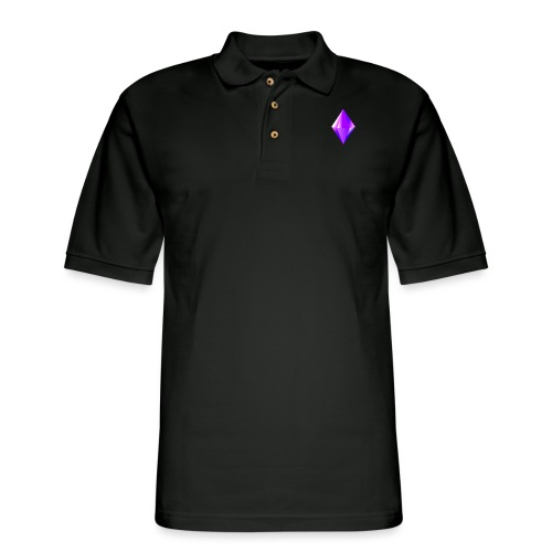 Crystal clear Heart - Men's Pique Polo Shirt