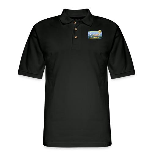Bentley Blockade - Men's Pique Polo Shirt