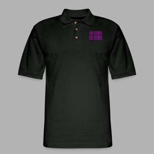 Love Yourself - Men's Pique Polo Shirt