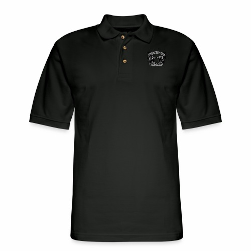 Atheist Republic Logo - Shooting Stars - Men's Pique Polo Shirt