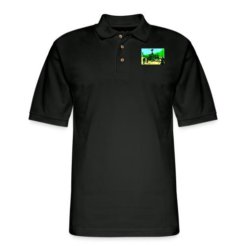 ANZAC - Men's Pique Polo Shirt
