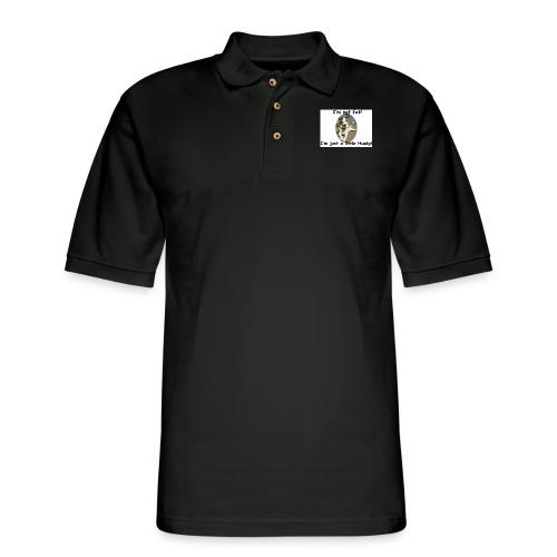 little Husky - Men's Pique Polo Shirt