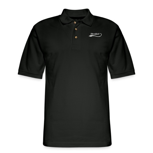 Mens Shredded Crewneck Sweatshirt - Men's Pique Polo Shirt