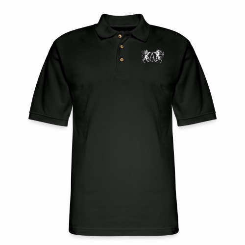 AR Manila Atheist Logo - Men's Pique Polo Shirt