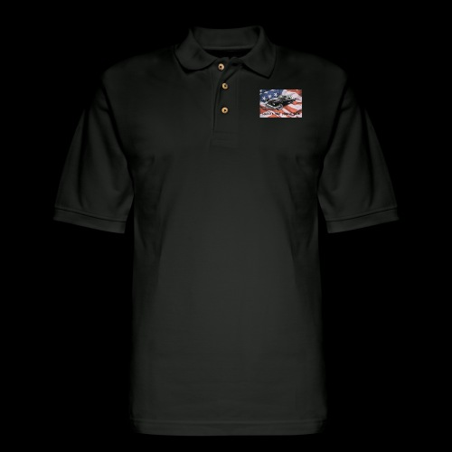 World's Best Muscle Cars - Men's Pique Polo Shirt