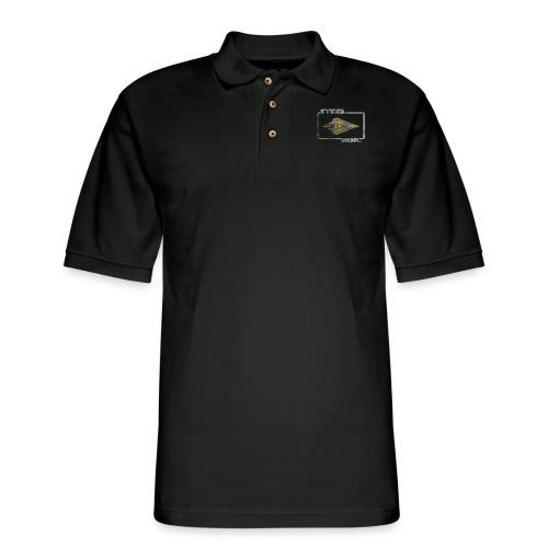 STEEL WING - Men's Pique Polo Shirt