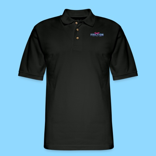 80s Team Friction - Men's Pique Polo Shirt