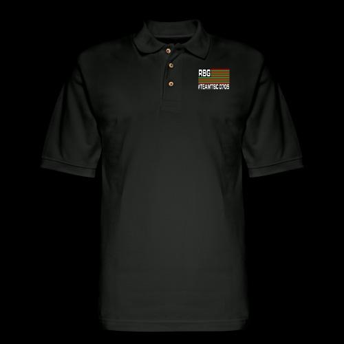 TeamTSC RBGFlag 2 - Men's Pique Polo Shirt