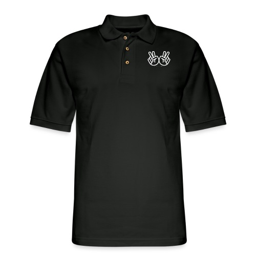Increase the Peace (Light) - Men's Pique Polo Shirt