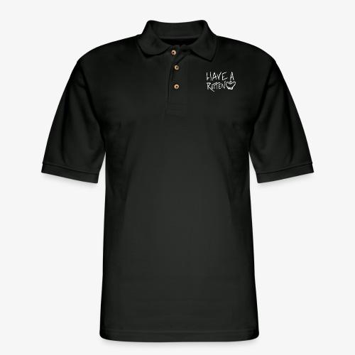 have a rotten apple inv - Men's Pique Polo Shirt