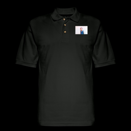 LOUAY WORLD TOUR - Men's Pique Polo Shirt