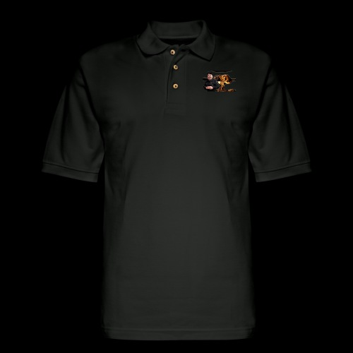 Crazy Kim exploded - Men's Pique Polo Shirt