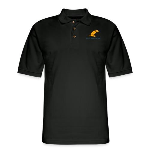 Dragging Ass - Men's Pique Polo Shirt